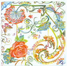 Dragonfly Garden Decoupage Napkins Of Roses Butterflies Dragonfly U2013 Chiarotino