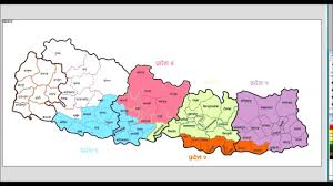 Map Of Nepal And China by New Map Of Federal Democratic Republic Of Nepal Youtube