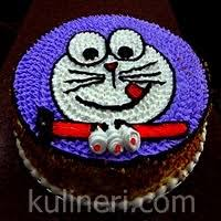 cara membuat hiasan kue ulang tahun anak kue ulang tahun doraemon