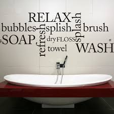 Sayings For The Bathroom Bathroom Wall Decals Relax Refresh Renew Bathroom Wall Decal By