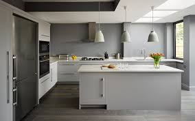 Small Kitchen Painting Ideas by Harvey Jones Linear Kitchen Painted In Dulux U0027steel Grey 3 U0027 Www