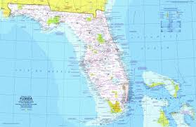 Florida Interstate Map by National Geographic Florida Map 1973 Maps Com