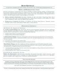 resume template entry level sales representative pharmaceutical rep resume