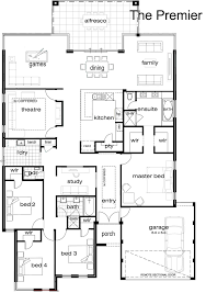 custom floor plans for homes floor plans single storey house home designs custom bungalow