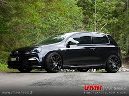 volkswagen black vmr wheels v713 matte black volkswagen golf vi r flickr