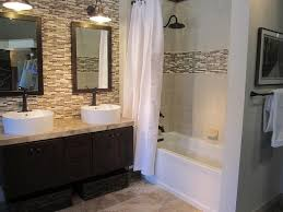 Accent Wall In Bathroom Bathroom Tile Accent Wall Public Restroom Design Pinterest