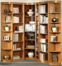 bookcase corner bookshelf white wood corner bookcase dark wood