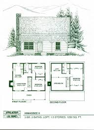 House Plans With Lofts 100 Log Cabin Style House Plans Small House Plans Vacation