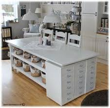 Jennifer Mcguire Craft Room - image result for kitchen cabinets used in craft room craft room