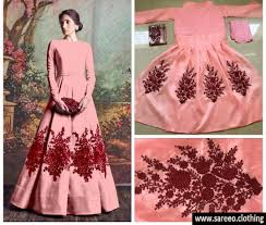 gown design multicolor colour new designer multicolor banglori silk