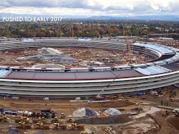 apple u0027spaceship u0027 campus 2 drone flyover photos video business