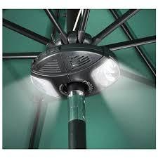 outdoor umbrella speaker u0026 light 588824 patio umbrellas at