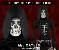 Sons Anarchy Costume Halloween Mod Sims Mesh Costume Bloody Reaper Costume Sons