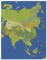 Blank East Asia Map by Maps Of Asia Johomaps