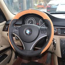 bmw 325i steering wheel savanini car styling anti slip leather steering wheel