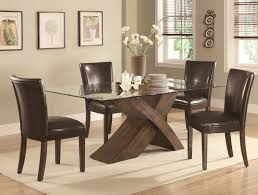 interesting dining tables project awesome wood and glass dining