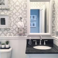 Bathroom Wall Stencil Ideas 286 Best Stenciled U0026 Painted Bathrooms Images On Pinterest