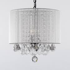 Crystal Drum Shade Chandelier Drum Shade Pendant Chandelier Very Beautiful Drum Shade