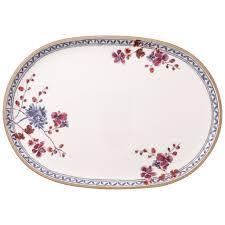 thanksgiving china sets french garden fleurence oval platter 14 1 2 in villeroy u0026 boch