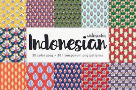 indonesian pattern indonesian seamless patterns patterns creative market