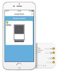 micro blinds for windows insteon remote control micro open close module