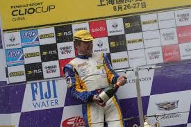 renault china doctor as a renault clio cup driver champion david lau news