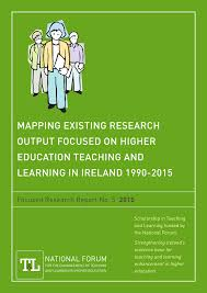 mapping existing research output focused on higher education