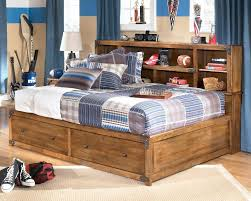 Bed Bookcase Headboard Full Size Storage Bed With Bookcase Headboard Wonderful Full Size