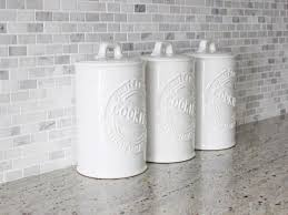ceramic canisters for the kitchen delightful ideas white ceramic kitchen canisters home design