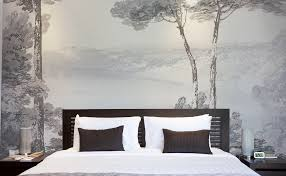 papier peint pour chambre coucher idee de papier peint pour chambre maison design bahbe com