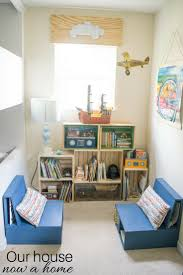 Easy To Build Bookshelf Diy Wooden Crate Bookshelf Making The Perfect Kids Reading Nook