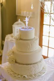 tinkerbell and lace wedding cake cakecentral