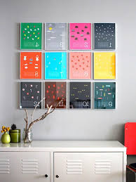 Ideas For Decorating Kitchen Walls Budget Kitchen Wall Art Copy French Words And Diners Tutorial Of