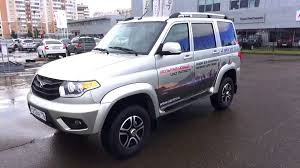 uaz 2016 2015 uaz patriot limited start up engine and in depth tour