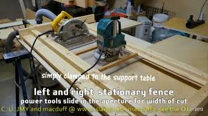 convert circular saw to table saw how to to complement the cutting table wmv and the mastercraft