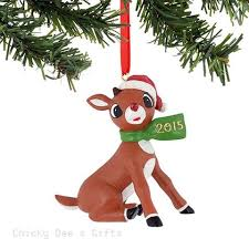 rudolph the nosed reindeer ornaments and figurines