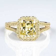gold diamond engagement ring colored diamond engagement rings naturally colored