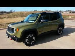 new jeep renegade green all new commando green 2015 jeep renegade trailhawk 4x4 edition sky