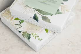 jewelry box favors square paper jewellery box mockup by wutip graphicriver