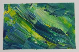 simple acrylic painting technique for creating amazing abstract