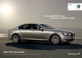 future bmw 7 series all new bmw 7 series launch campaign 2009 juliana loh