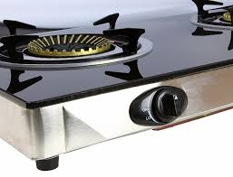 Two Burner Gas Cooktop Propane Propane Gas Range Stove Deluxe 2 Burner Tempered Glass Cooktop