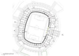 stadium floor plan teslim balogun stadium lagos nigeria ground floor plan exceptional