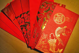 pocket new year significant of lunar or new year phinixs