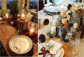 rustic dinner table settings christmas table settings emerald interiors blog