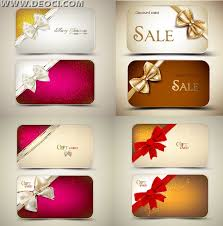 8 christmas greeting card gift card design template eps downloads
