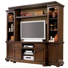 Ashley Porter Nightstand Porter Entertainment Wall Unit By Ashley Furniture