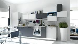 cuisine gris et deco cuisine gris et blanc newsindo co