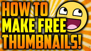 How To Make I How To Make Thumbnails For Free With Pixlr Youtube