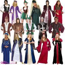 Tudor Halloween Costumes Medieval Renaissance Robin Hood Knight Queen Tudor Fancy